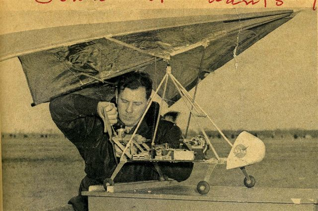 John Worth wrote the book on Rogallo hang gliders